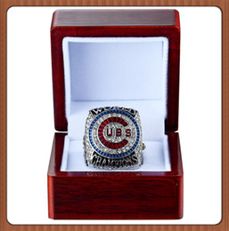 Wholesale Diamond Ring 18 - Free Shipping High Quality 2017 Wholesale 2016 Chicago Cubs World Series NO.18 ZOBRIST Championship Ring Baseball Souvenir Sport wholesale