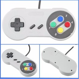 Wholesale Replacement Shocks - Classic USB Controller PC Controllers Gamepad Joypad Joystick Replacement for Super Nintendo SF for SNES NES Tablet PC LaWindows MAC