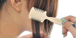 onda mágica atacado escova Desconto 1 pc / lote Novas Mulheres Barbeador De Limpeza Grooming Senhoras Pentes Pente Pente Ferramentas de Remoção de Cabelo Profissional Meninas Produtos Com Lâmina