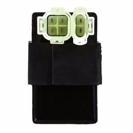 Wholesale 125cc Kart Cdi - Motorcycle GY6 Two Plugs 6Pins CDI BOX for ATV Scooter GO KART Moped 50cc 125cc 150cc 250cc 300cc