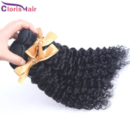 Wholesale Wholesale Weave Distributors - Clearance 10pc lot Afro Kinky Curly Brazilian Hair Bundles Wholesale 1kg Natural Curly Remi Human Hair Extensions for Distributors on Sale