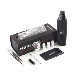 Wholesale Dry Herb Vaporizers Kits - Authentic Herova 3 in 1 Vaporizer E Ceramic Kits Dry Herb Vaporizers Kit Or Wax Available Wax Vaporizer Herbal Pen 100% Genuine 2253004