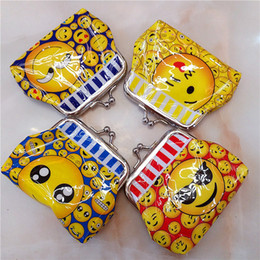 Wholesale Pokemon Coins - Poke kids coin Purse Pikachu Smile cartoon Bags boys girls purse bag kid gift 20 P L