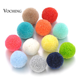 Wholesale Mixing Balls - Perfume Ball 16mm Mix Colors Aromatherapy Essential Oil Pompon Ball for Angel Locket VA-323
