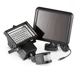 Wholesale 9v Solar - Sensor PIR Motion Led Floodlights Outdoor Led Solar Lights Waterproof Led Flood Lights 9V 10W Garden Lawn Light