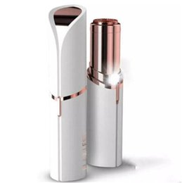 Wholesale Trimming Facial Hair Women - Women's Painless Facial Face Body Hair Removal Remover Trimmer Shaver Portable Hair Remover DHL Free