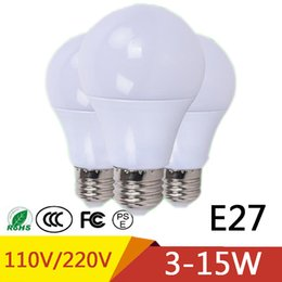 Wholesale Marine Room - NEW E27 Led Lamp Lights 3W 5W 7W 9W 12W 15W Lampade LED Led Bulb for Motor Home Marine Outdoor Lighting 110V
