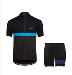 Wholesale Custom Cycling Clothing - 2017 Rapha Short Sleeve Cycling Jerseys Custom DIY Pink Durable Perspiration Breathable Cycling Clothing Men Cycling Jerseys Free Shipping
