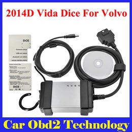 Wholesale French Language Tools - DHL Free Professional For Volvo Vida Dice 2014D Full Chip Diagnostic Tool With Multi-language