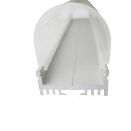 Deutschland 10 X 1 Mt sätze / los Al6063 U typ led aluminiumprofile und Anodized silber led profil diffusor für boden oder boden leuchten cheap silver floor light Versorgung