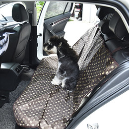 Wholesale Pet Dog Car Cover - 1.4*1.1M Pet Back Seat Cover Dog Mattress Safety Waterproof Durable Comfort Seat Cushion Non Slip Protection Mat Pet Car Supplies