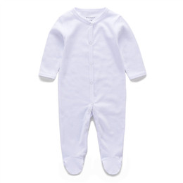 Wholesale baby winter body - New Fashion Brand Newborn Baby Boy Girl Clothes Bebe Long Sleeve Turn-down Collar Baby Body Rompers Product Ropa Bebe