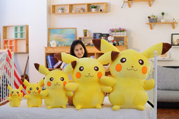 Wholesale Pp Cotton Stuffing - Cute cartoon Poke Plush doll toy Pikachu Plush PP cotton Stuffed Toy Stuffed Animals & Plush Toys children's toy and gifts