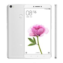 "Wholesale Tri Micro Sim - Original Xiaomi Mi Max Pro 4G LTE Mobile Phone 3GB RAM 64GB ROM Snapdragon 652 Octa Core MIUI 8 6.44"" 2.5D Glass 16MP Fingerprint Cell Phone"