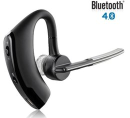 Wholesale Wholesale Command Hooks - business bluetooth new voyager legend Bluetooth Headset earphone Voice Command Auto-answers for iphone android, Free shipping
