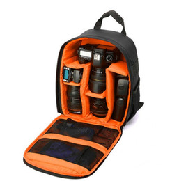 Wholesale Digital Camera Orange - Video Photo Digital Camera Shoulder Soft Backpack Bag Shockproof Waterproof Pouch for Digital Mirror Camera