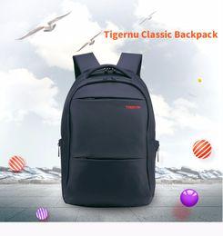 Wholesale Hollow Books - 2017 Tigernu Brand Waterproof Men Backpack Business Computer book Bag Women Backpack Men's Laptop Bag Backpack 15.6