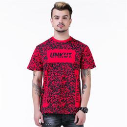 Wholesale Leopard Print Tshirts - Wholesale- 2016 brand hip hop unkut Tee shirts Harajuku t shirt Casual Fashion Cotton Lover men Tshirts Men t-shirt Leopard t shirt men