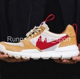 Wholesale Crafts Canvas - Original Tom Sachs Craft Mars Yard 2.0 Running Shoes Men Craft Mars Yard TS NASA 2.0 AA2261-100 Sport Shoes US7-10