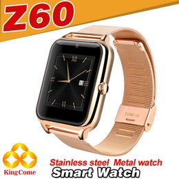 Wholesale Z60 Smart WatchAndroid Apple Wireless Bluetooth DZ09 Stereo Music Phone Sports waterproof Original Touch Smart Watches Birthday Gift Dhlfree