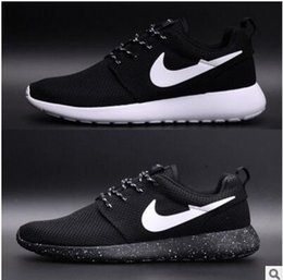 Wholesale Korean Summer - free shipping 2017 spring and summer men's &women casual shoes breathable mesh shoes, running shoes Korean teen fashion sneakers size36-44