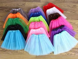 Wholesale Pettiskirts For Girls - Wholesale - New Baby TuTu Skirts Baby pettiskirt girls' skirts pettiskirts for kids tutu Chiffon Ruffles skirts freeshipping by EMS