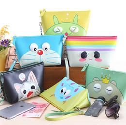 Wholesale wholesale postage bags - South Korea lovely waterproof makeup bag lady hand wash gargle bag exempt postage DHL zero wallet cosmetics