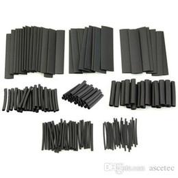 2019 schrumpfschlauchgröße Wärmeschrumpfschlauch 127-teilig, schwarz, Sortiment, Wire Wrap, Isolierschlauch, 8-teilig, wärmeschrumpfbar