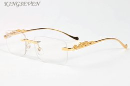 2019 óculos de damas rosa 2017 Moda Sem Aro Do Vintage óculos de Sol Das Mulheres de Alta Qualidade Búfalo Chifre Mulheres Sem Aro Óculos de Sol das senhoras rosa Claro Óculos Feminino óculos de damas rosa barato