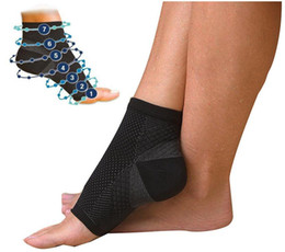 Wholesale Wholesale Ankle Sleeve - Foot Angel Anti Fatigue Foot Compression Sleeve Sports Socks Circulation Ankle Swelling Relief Outdoor Running Cycle Basketball Socks
