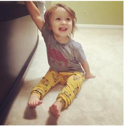 Wholesale Animal Print Pants For Kids - Baby Harem Girl Boy Pant For Kid Girl Clothing School Sweat Pants Animal Print For Fall