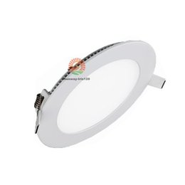 Wholesale Dimmable 15w Cool White Downlight - Stock in US! Round LED panel lights 12W 15W dimmable led downlight recessed ceiling lamps warm natural cool white led downlights AC85-265V