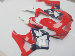 Wholesale Cbr Body Parts - Aftermarket body part fairing kit for Honda CBR919RR 98 99 red blue white fairings set CBR 900RR 1998 1999 OT28