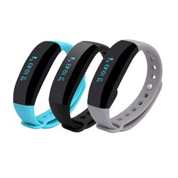 Wholesale V2 Android - CUBOT V2 Smart band Waterproof IP65 Bracelet for Android Samsung and IOS Apple Heart Rate Monitor real time GPS Sports Wristband PK miband