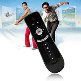 Wholesale Universal Tv Mini - Fashion Gyroscope Mini Remote Control Fly Air Mouse T2 2.4G Remote Sensing Air Mouse for MXQ Pro S905X Android TV BOX