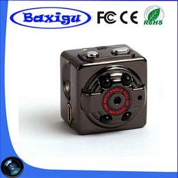 Wholesale Infrared Spy - HD 1080P Sport Spy Mini Camera SQ8 Mini DV Voice Video Recorder Infrared Night Vision 720P Digital Small Cam Hidden Camcorder