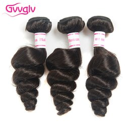 Wholesale Wholesale Real Peruvian Virgin Hair - Peruvian Loose Wave Bundles 3 Pieces Per Lot 100g pc Peruvian Virgin Hair 8-30 Inch Loose Wave Peruvian Hair Real Human Hair Extensions