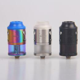 Wholesale electronic cigarette atomizer 4ml - Authentic YOSTA IGVI RDTA 25 Atomizer 4ML Tank 810 Drip Tip RDA Enhanced Airflow System Huge Vape Tank RDA Electronic Cigarettes