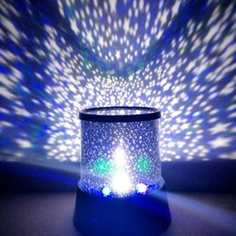 Wholesale Deco Heart - Creative romantic fantasy girl heart starry sky projector room decoration LED a powerful and unconstrained style Nightlight