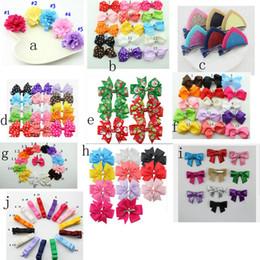 "Wholesale Design Hair Bows - 10 design available ! 2.7"" Baby Hair Bows With clip Hair BowBaby Hair Bow Extra Large Hair Bow Hair Bow Hair Bowknot Barrettes"