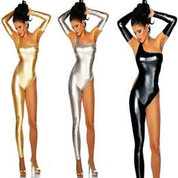 Costume senza maniche aderente per donna sexy Catsuit da corpo pieno di gomma fornitori