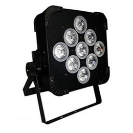 Wholesale Mastering Sound - New Arrivel LED Stage Lighting LED PAR Lights Available Battery Power and Wireless DMX Par Light 9*15W RGBWA LED Effect AC 100-240V 50 60Hz