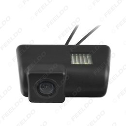 Wholesale Rear View Camera For Ford - FEELDO CCD Rear View Car Camera With LED Light For Ford Transit Connect Van Parking Camera SKU:#4102