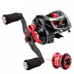 Wholesale Elf Ii - ELF II 1200 Baitcasting Fishing Reel With Extra Spool 14BB 6.4:1 7.2:1 Max Drag 7.5kg Super Light Casting Fishing Reel