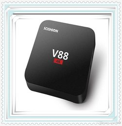 Wholesale Free Online Movies - .V88 Android TV Box Rockchip 3229 Smart Boxes 4K Quad core 16.1version Full Loaded support 3D Free Movies Online Mini PC