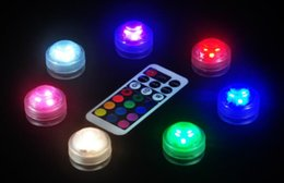 Argentina Lámpara de vela redonda luminosa a prueba de agua Lámpara de salto colorida LED pequeña lámpara de control remoto reemplazable Suministro