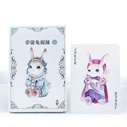Wholesale Greeting Card Packs - Wholesale- 30Pcs pack New Dream Sleep Alice Rabbit in Wonderland Greeting Card Postcard Letter Envelope Gift Card Set Message Card M0417