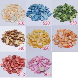 Wholesale Green Gram - 200 gram  Pack, Shell Scraps, DIY Mosaic Hobbies Shell, Irregular Shell Scraps, Mother Peal Shell