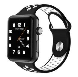 Wholesale Gps Quadcore - 2017 Goophone Watch iwo 3 Generation sport smart watch phone Bluetooth foreign trade quadcore