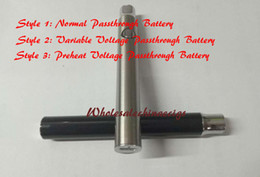Wholesale Ego Variable Voltage Usb Passthrough - mini ego evod usb passthrough Preheat battery variable voltage for glass o pen vape bud touch CE3 cartridges atomizer hash thc oil smoking